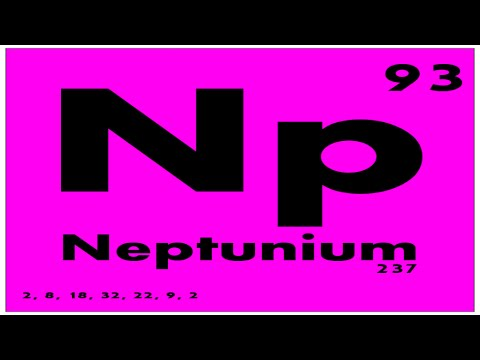 STUDY GUIDE: 93 Neptunium | Periodic Table of Elements
