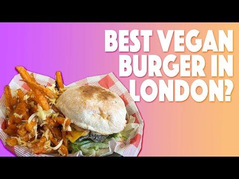 Best Vegan Burger In London? - Mooshies Burger Bar