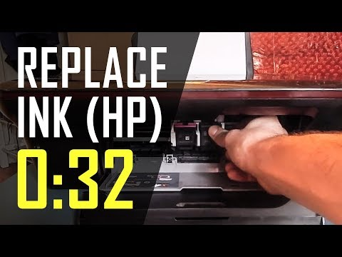 How to: Replace an Ink Cartridge (HP Deskjet 3054)