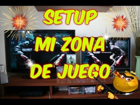 SETUP -MI NUEVA ZONA DE JUEGO+MINI ESTUDIO DE GRABACION