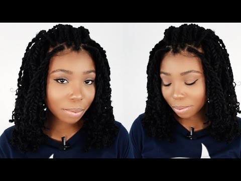 Kinky Twist Finished Hairstyle Tutorial Part 5 of 7
