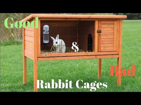 GOOD & BAD rabbit cages