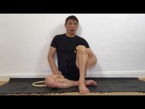 Chi Sau Ring Techniques to strengthen your Shinbone and Leg
