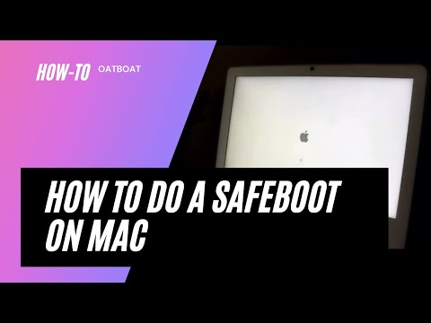 How to do a safeboot on a Mac