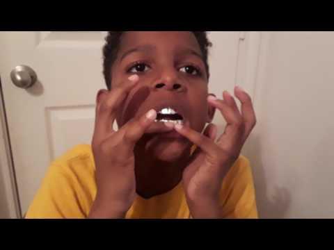How make fake silver teeth