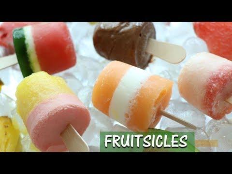 Popsicle recipe | Make summer fruit popsicles at home | Fruitsicles | Summer recipes for kids