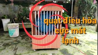 Chế quạt điều hòa làm mát bằng nước /Processing water-cooled fan