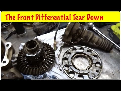 How To Rebuild a ATV Differential Part 1