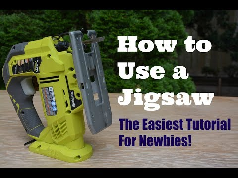 How to Use a Jigsaw: The Easiest Tutorial For Newbies! - Thrift Diving