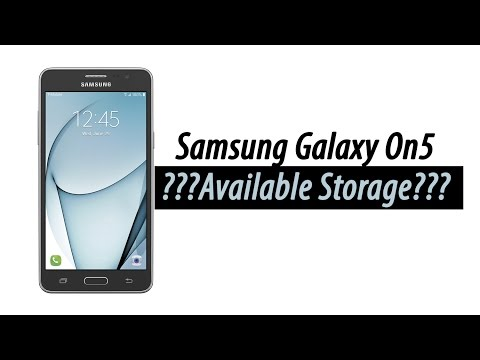 How Much Storage Does the Samsung Galaxy On5 Have | H2TechVideos