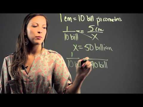 How to Convert Length From Centimeters to Picometers : Math Education