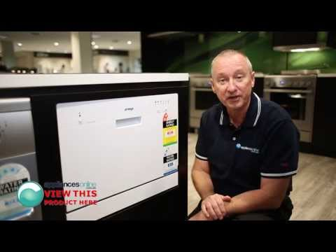 Overview with expert of the compact Omega DW101WA bench top dishwasher - Appliances Online