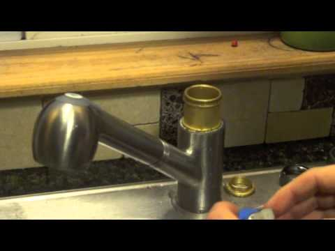 DIY Fix - Replacing leaking cartridge on Price Pfister kitchen pull out faucet