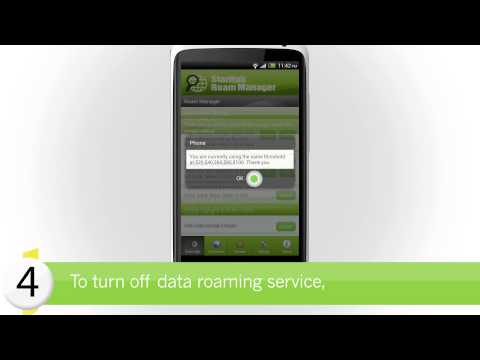 StarHub How-to's:  How to use Roam Manager to manage your data-roaming bill on Android (Part 2)