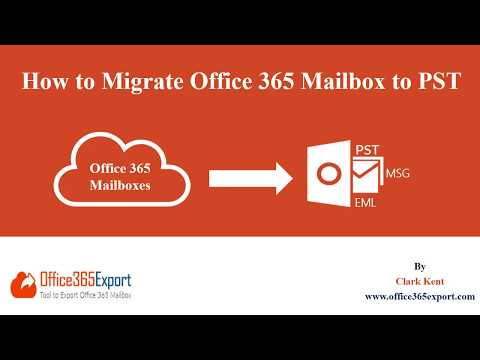 Export Office 365 Mailbox to PST without using eDiscovery & Powershell