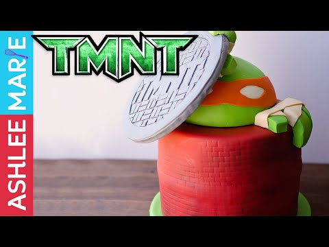 Teenage Mutant Ninja Turtles cake Completed - TMNT cake 3