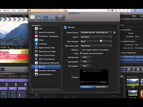 FCPX to Blu Ray