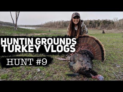 Girls Hunt Turkeys Too - Public Land Boat Hunt #9  S9