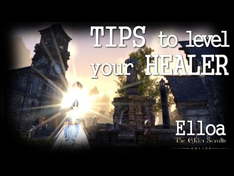 ESO - Tips To Level Your Healer