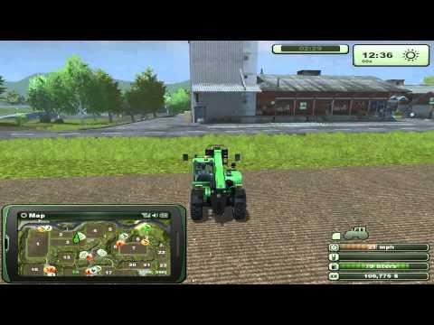 Farming Simulator 2013 Front Loader Mission: Farm Shop - Biogas Plant