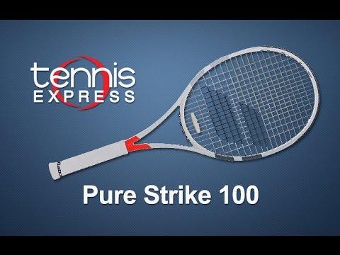 Babolat Pure Strike 100 Tennis Racquet Review | Tennis Express