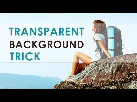 Transparent & Semi Transparent Div Background in Hindi | HTML & CSS3 Trick