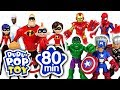 June 2018 TOP 10 Videos 80min Go Avengers Incredible PJmasks And Transformers DuDuPopTOY