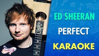 Ed Sheeran  Perfect Karaoke  Cantoyo