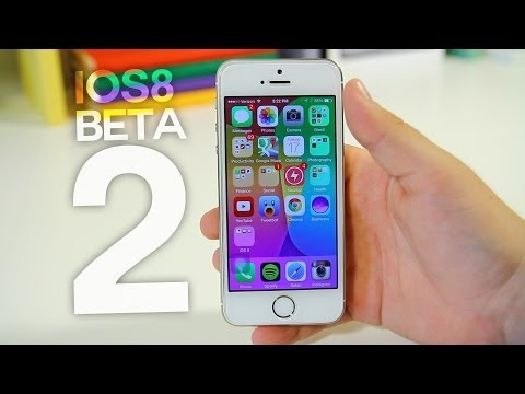 iOS 8 Beta 2 - New Features & Bug Fixes!