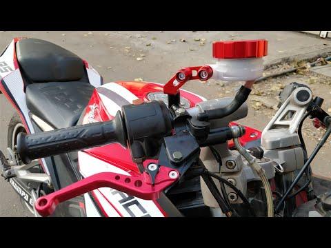 Racing levers installation