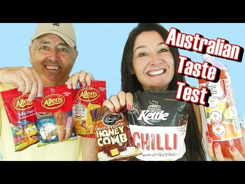 AUSTRALIAN Candy Taste Test Allen's Darrell Lea and more - Cheeky Tam