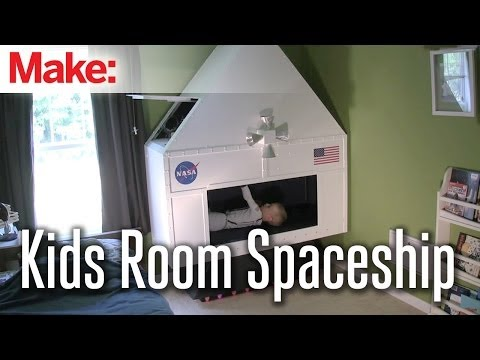 Making Fun: Kids Room Spacecraft
