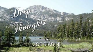 Deep Thoughts by Joe Biagini: Birds
