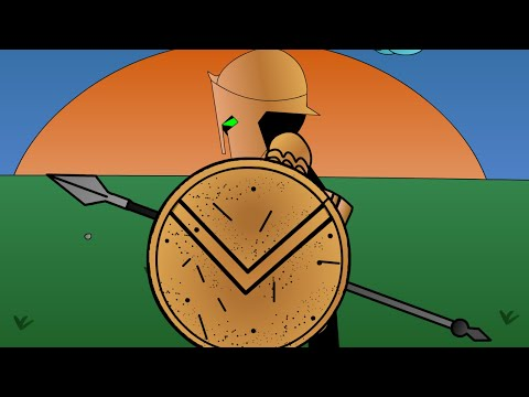 Animated Medieval Warfare - The Spartans