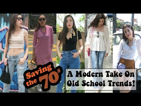 SAVING THE 70'S  | Five outfit ideas inspired by the 70's!