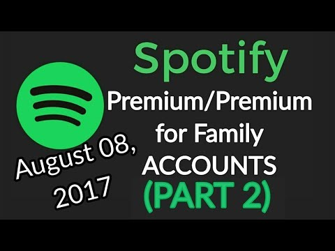 Spotify Premium Accounts – August 8, 2017 (Spotify Premium for Family/Autopagable Accounts Giveaway)