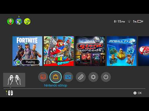 HOW TO DOWNLOAD & SYNC FORTNITE ON NINTENDO SWITCH IN THE UK  * NOW *