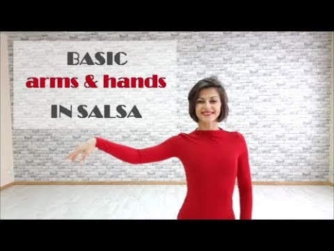 BASIC salsa arms & hands in details by Anna LEV