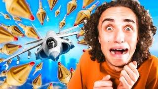 1000 ROCKETS vs. PLANES! (GTA 5 Funny Moments)
