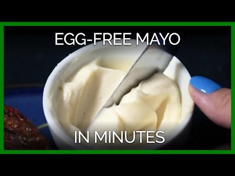 Make Your Own Egg-Free Mayo in Minutes!