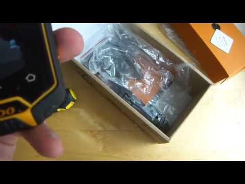 waterproof unlocked mobile phone uk Runbo X5 Walkie talkie UHF Rugged smartphone