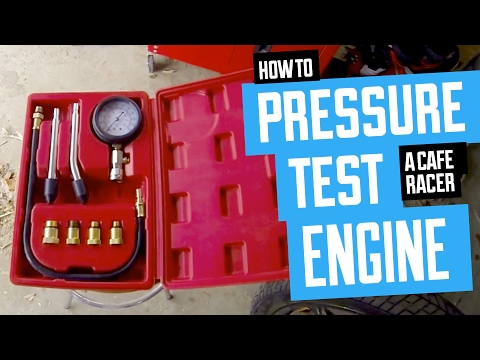 How to Pressure Test your Cafe Racer Motorcycle Engine