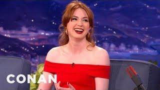 Karen Gillan Interview 9/27/2012 - CONAN on TBS