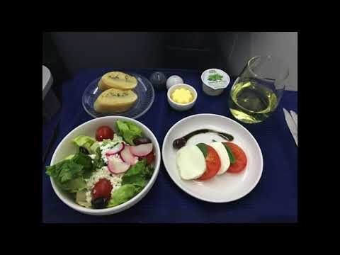 United Airlines 935 - London Heathrow to Los Angeles - Business Class