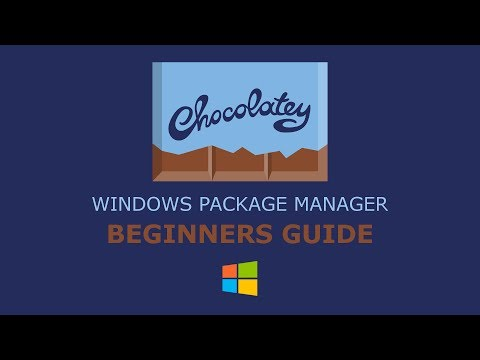 Chocolatey (Windows Package Manager) Beginners Guide