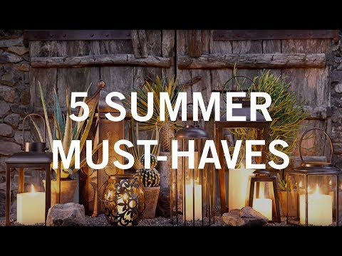 5 Summer Must-Haves