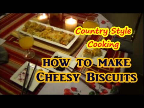 How To Make Cheesy Biscuits