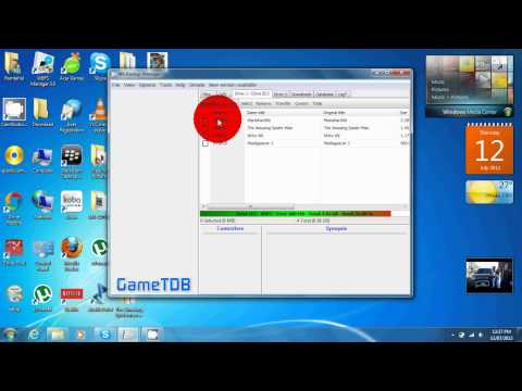 How to copy wbfs files to usb hard drive
