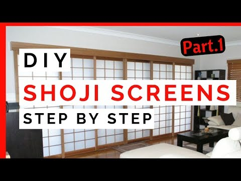 HOW A JAPANESE STYLE SHOJI SCREEN IS MADE