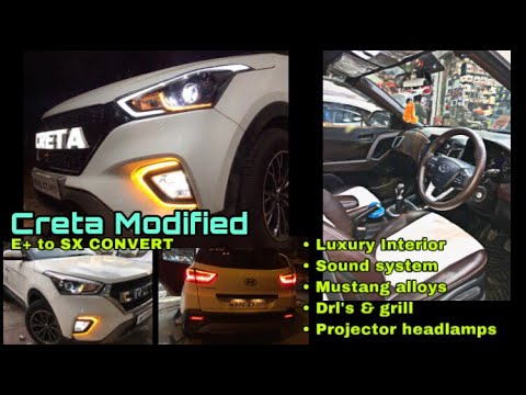 Xxx Mp4 Creta E To Sx Modified In Only ₹50k Top Model Projector Head Lamps Only ₹15 000 Luxury Interior 3gp Sex